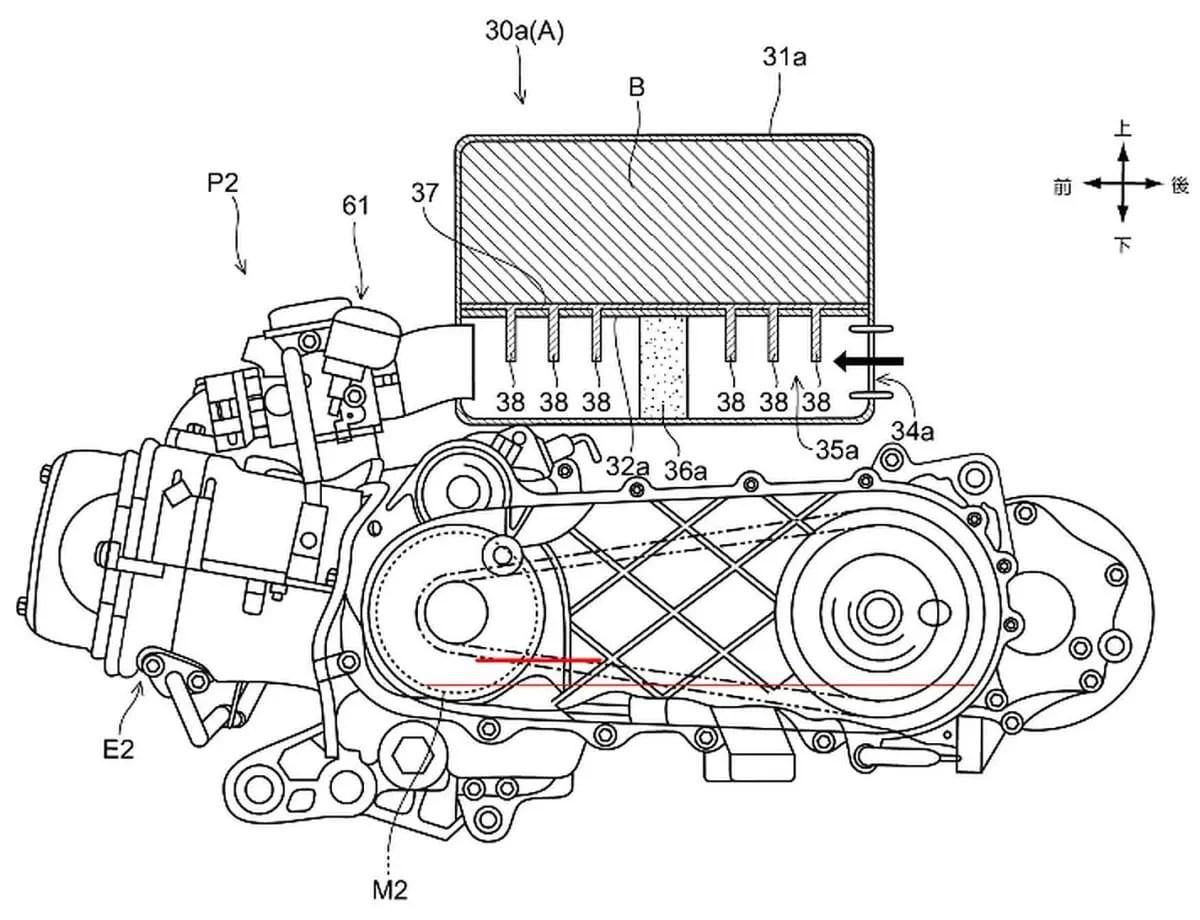 Honda S Hybrid Powered Scooter Plans On2wheels