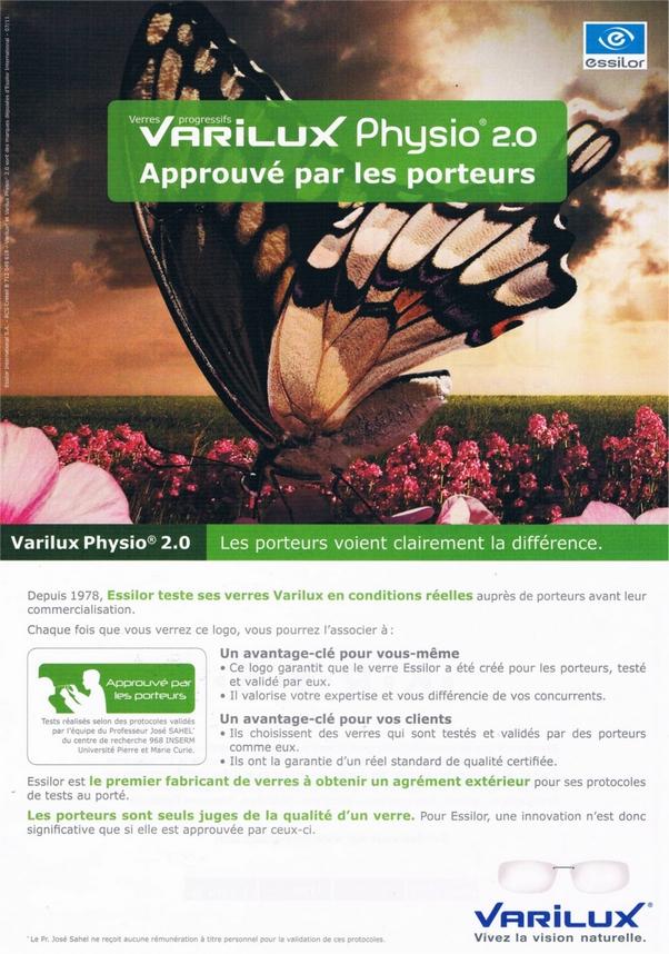 La Qualité des verres Essilor® approuvée... • o30 l Opticien à Bayonne 2e896889f6f4