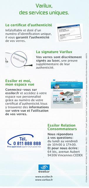 La Qualité des verres Essilor® approuvée... • o30 l Opticien à Bayonne 369e7c2ee315
