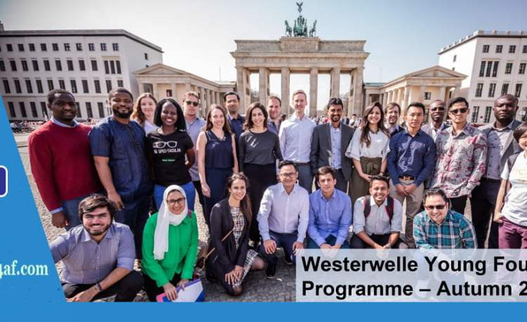 Westerwelle Young Founders Program 2018
