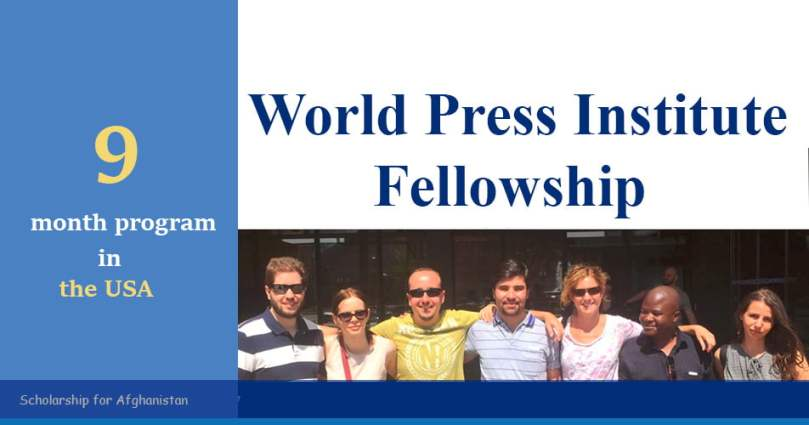 ff50fb2fcc World Press Institute Fellowship | Opportunity for Afghanistan