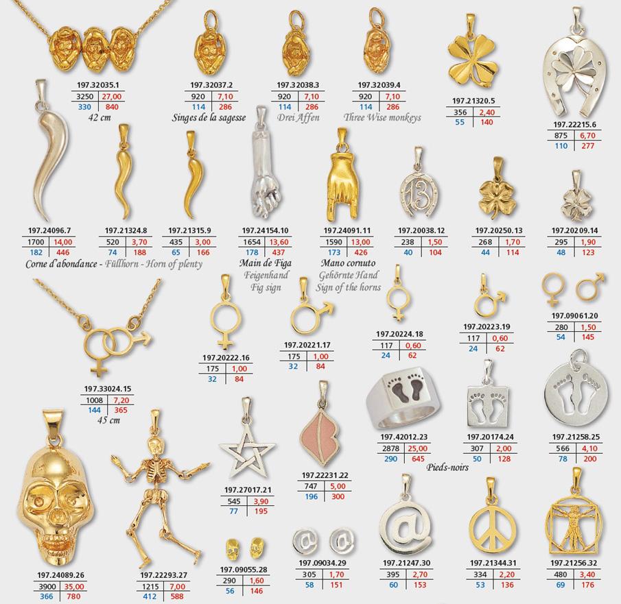 symboles page 3 bijoux porte bonheur en or et argent pendentif trefle corne yin yang ideogramme chinois bouddha