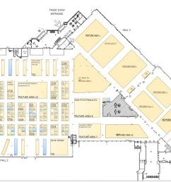 oafc 2019 trade show floor plan list of exhibitors [ 1200 x 768 Pixel ]
