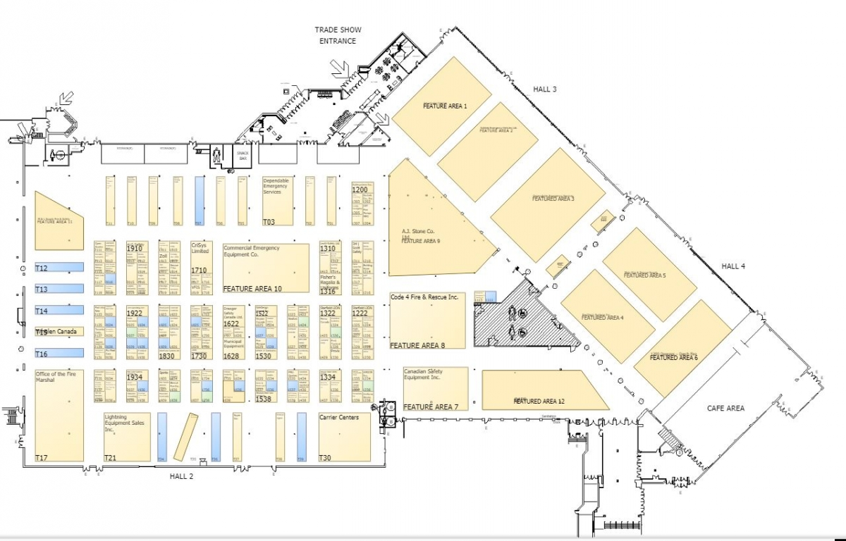 hight resolution of oafc 2019 trade show floor plan list of exhibitors