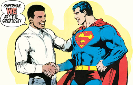 Image result for superman v muhammad ali