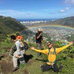 Unexpected rainbow treats make our crew happy!
