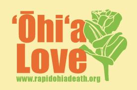 Ohia Sticker