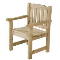 Barrel & Garden :: Rosedene Garden Chair - Rustic Timber