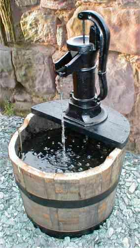 Barrel Amp Garden 20 Inch Pitcher Pump Water Garden