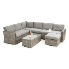Large Square Corner Sofa Sectional Bed For Small Spaces Barrel Garden Maze Rattan Victoria Set