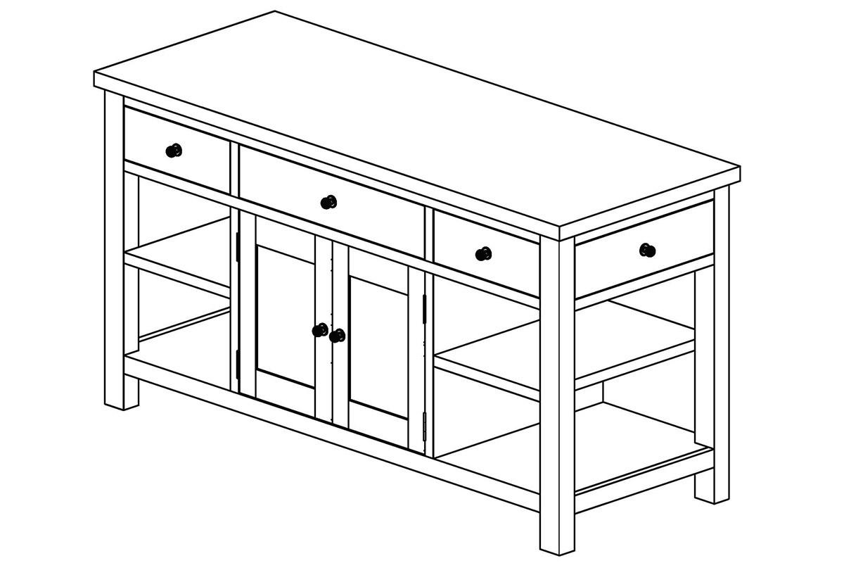Handmade Kitchen Dressers