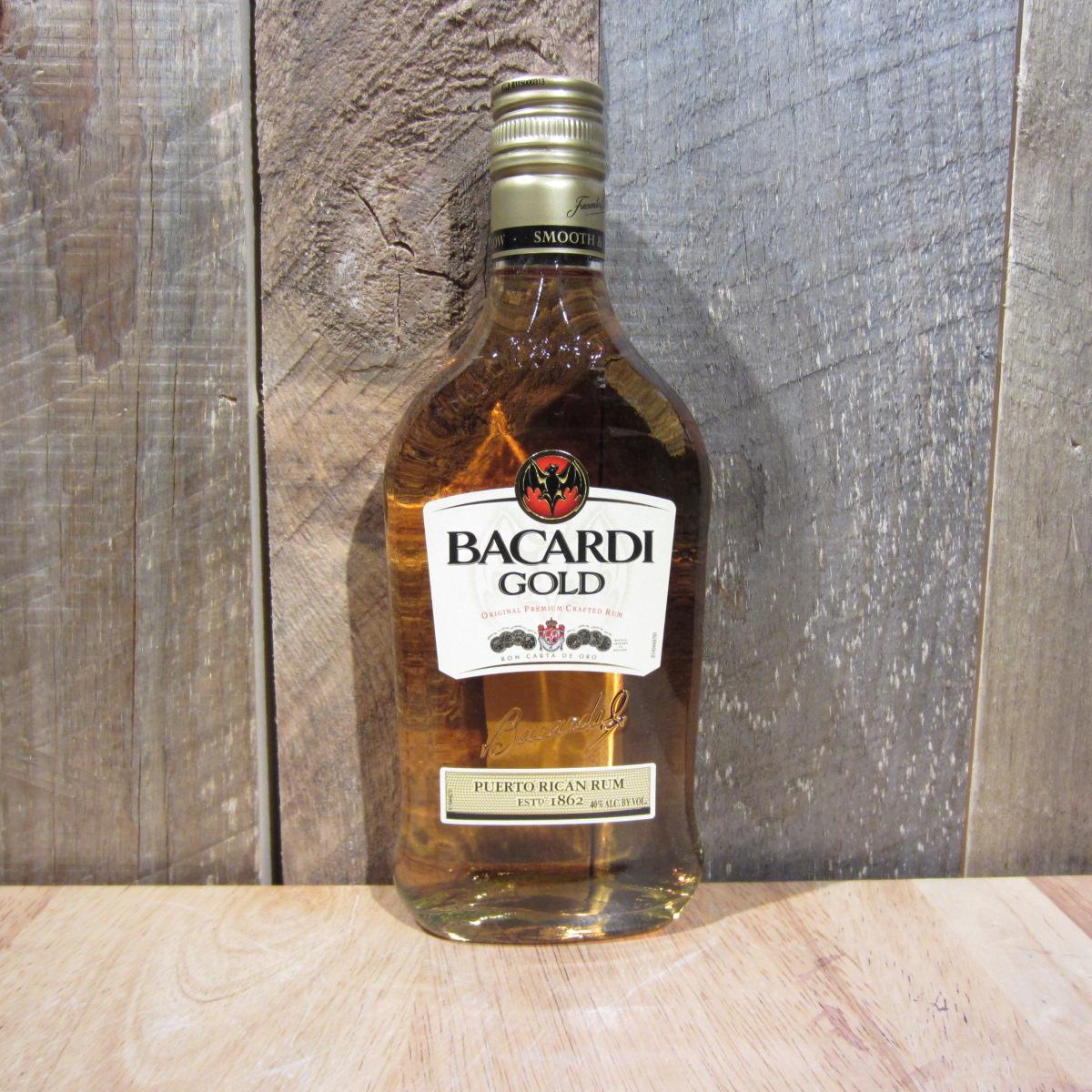 BACARDI GOLD 375ML PINTS HALF SIZE BTLS  Oak and Barrel