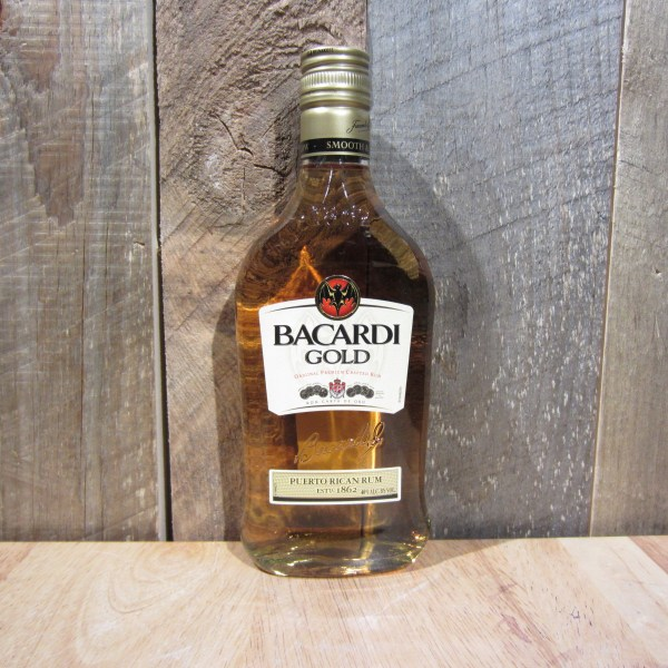 Picture of 375 Ml Bacardi Gold Rum