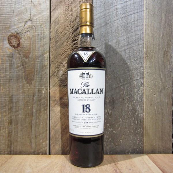 Macallan 18 Year Sherry Cask Single Malt 750ml - Oak And