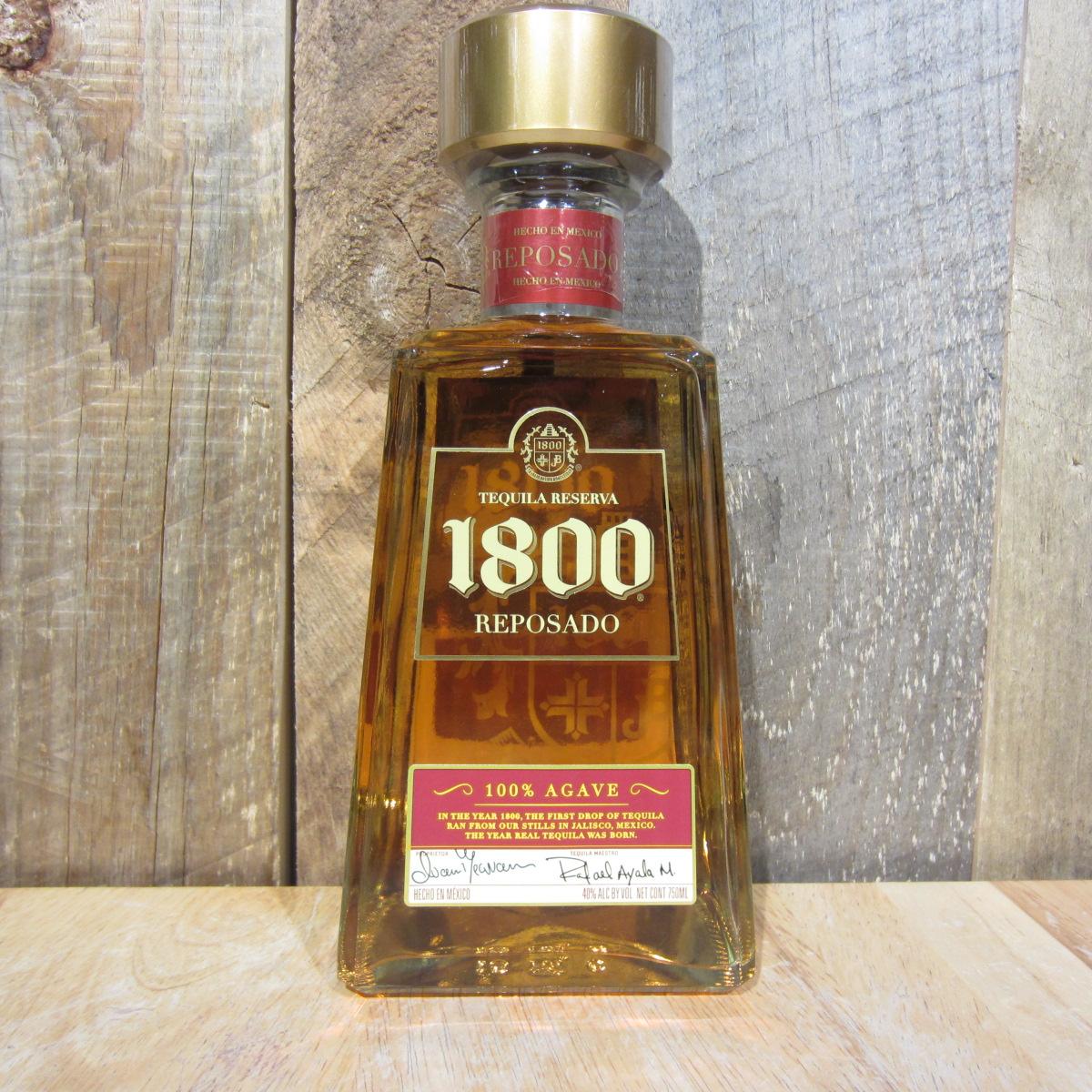 1800 REPOSADO TEQUILA 750ML - Oak and Barrel