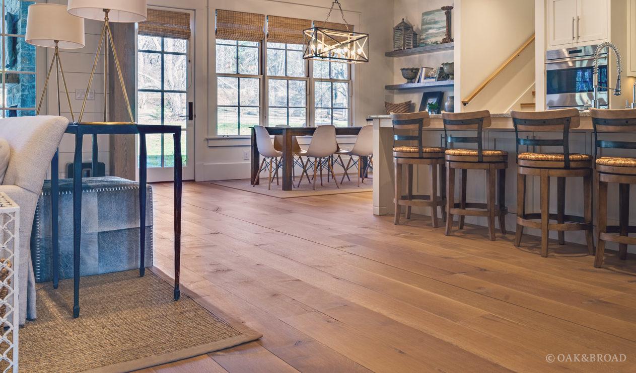 wide plank white oak flooring oak broad