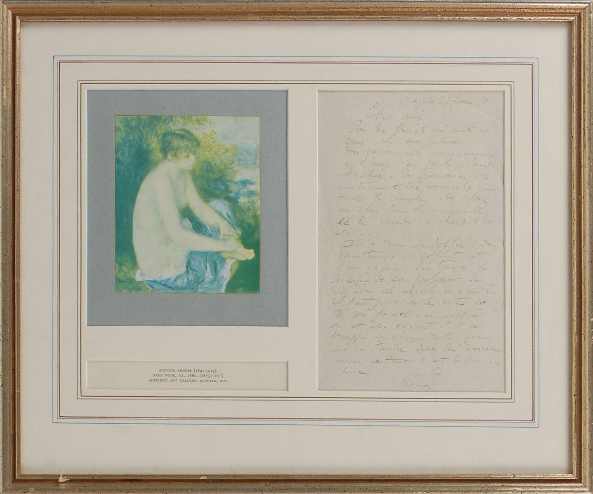 Lot Detail - Renoir Teaches How to Sing