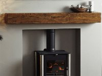 Oak fireplace beams - Oak Beam UK