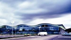 Dyson Factory, Malmesbury, photo courtesy of Kier