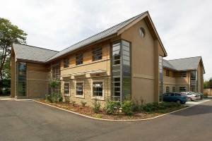 West Oxfordshire District Council Offices, photo courtesy of Kier