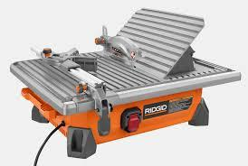 tile saw small 7 inch table top rentals