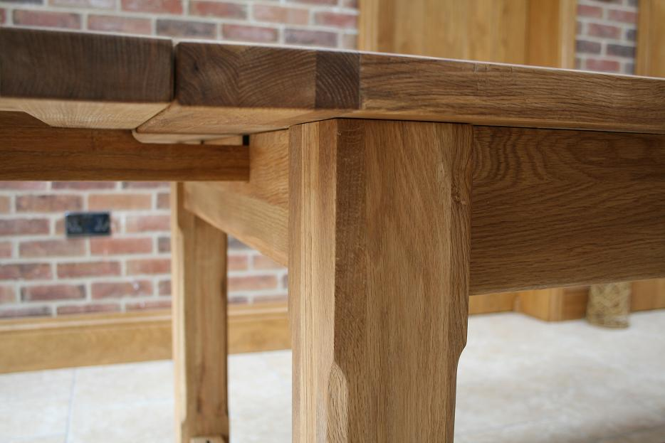 oak kitchen tables rustic lighting ideas oslo solid dining furniture sideboards large round