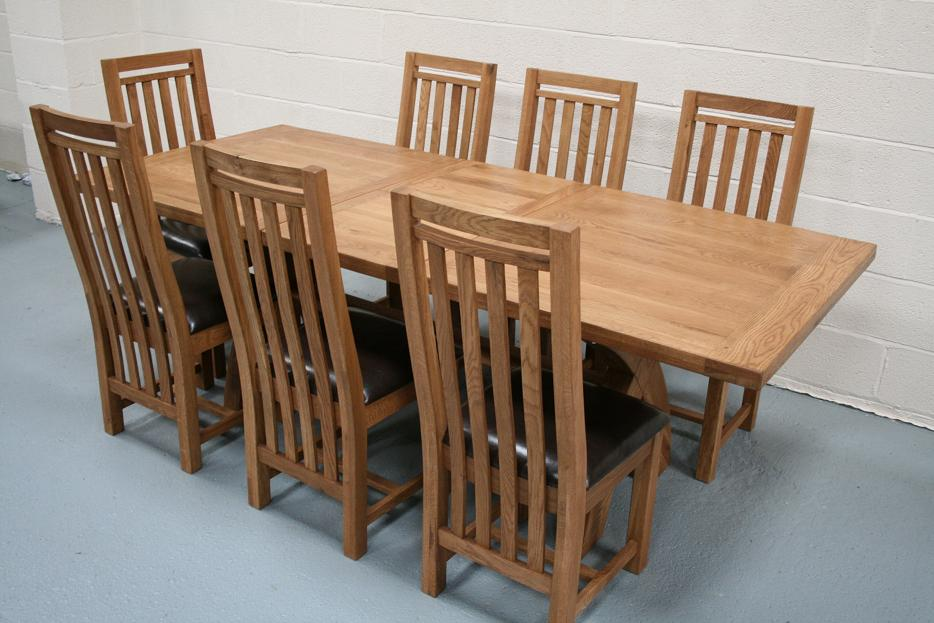 oak kitchen table sets price pfister avalon faucet country furniture rustic dining tables chairs benches stools