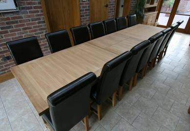 Square Dining Room Tables For 12