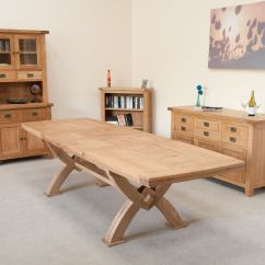 Large Round Oak Dining Table 8 Chairs Chair Gym Ebay Photo Room Tables Seat Images The