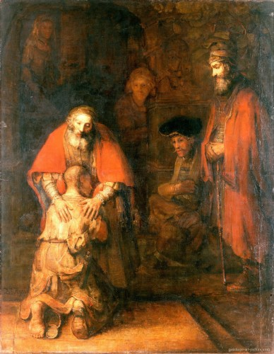 """The Return of the Prodigal Son"" by Rembrandt van Rijn"