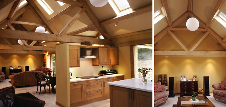 Oak Frame Carpentry Company England Timber framed