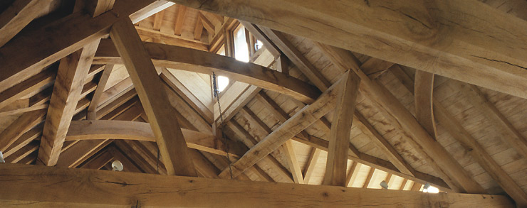 Oak Frame Carpentry Company Traditional and contemporary structural timber trusses