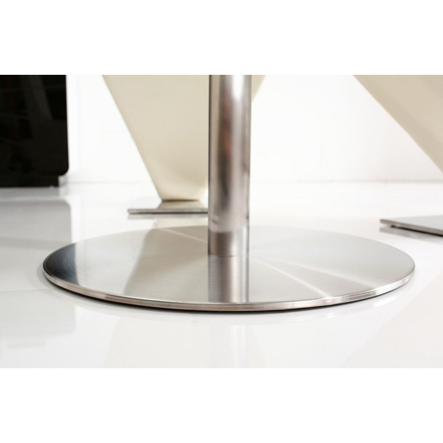 target 2 4 seater small round glass dining table