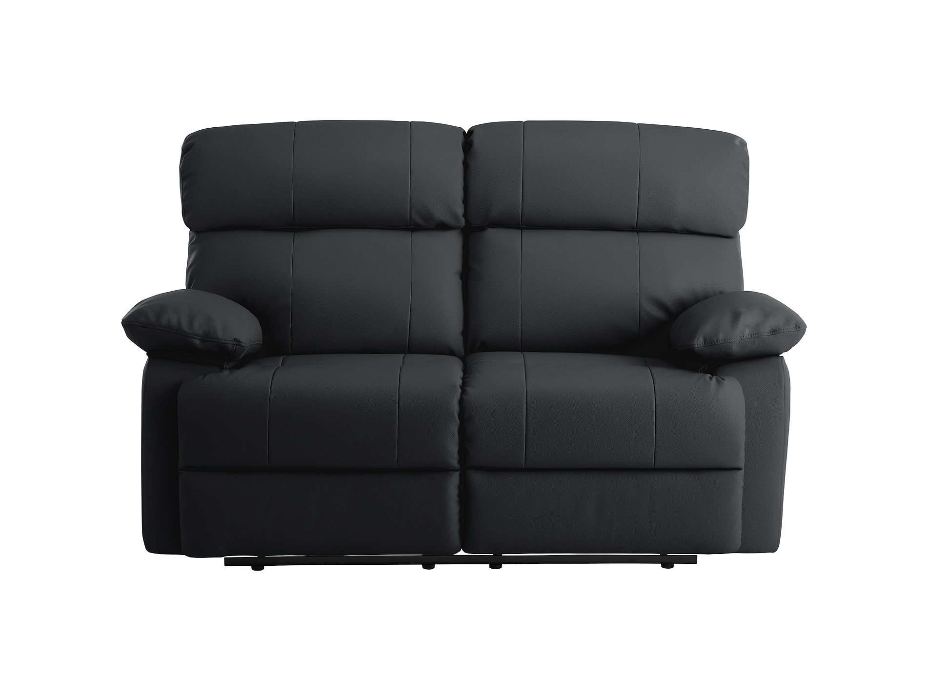 black small sofa family room with leather quantity