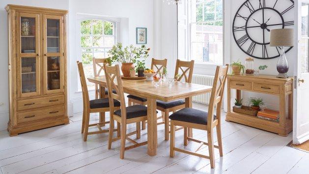 Dining Room Furniture  Solid Oak Dining Furniture  Oak