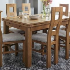 Oak Kitchen Table Sets Wooden Cabinets Dining And Chairs Furnitureland