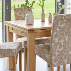 Fabric Living Room Chairs Themes Dining Upholstered Oak Furnitureland