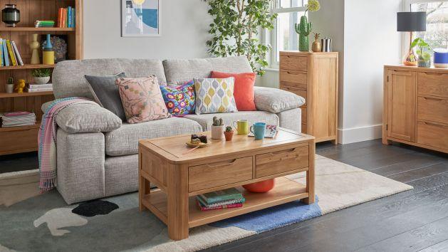 Sofa 4 Seater Fabric