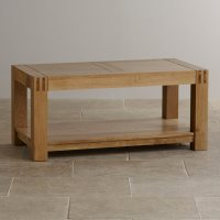 Alto Natural Solid Oak Coffee Table | Living Room Furniture