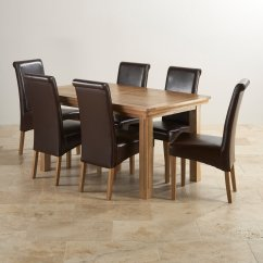 Dining Table With Leather Chairs Two Person Folding Camp Chair Canterbury Extending 43 6