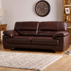 Light Brown Sofa Leather Sets Cheap Clayton 2 Seater In Oak
