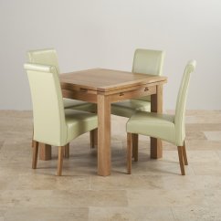 Dining Table With Leather Chairs Adams Mfg Adirondack Stacking Chair Dorset Oak 3ft 4 Cream