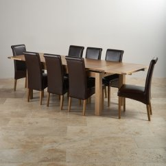 Table With Chairs Plastic Folding Wholesale Dorset Oak Dining Set 6ft 8