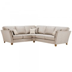 Brown And Beige Corner Sofa Crypton Fabric Reviews Gainsborough Large In 43 Scatters