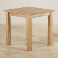 Hudson Square Dining Table in Natural Oak | Oak Furniture Land