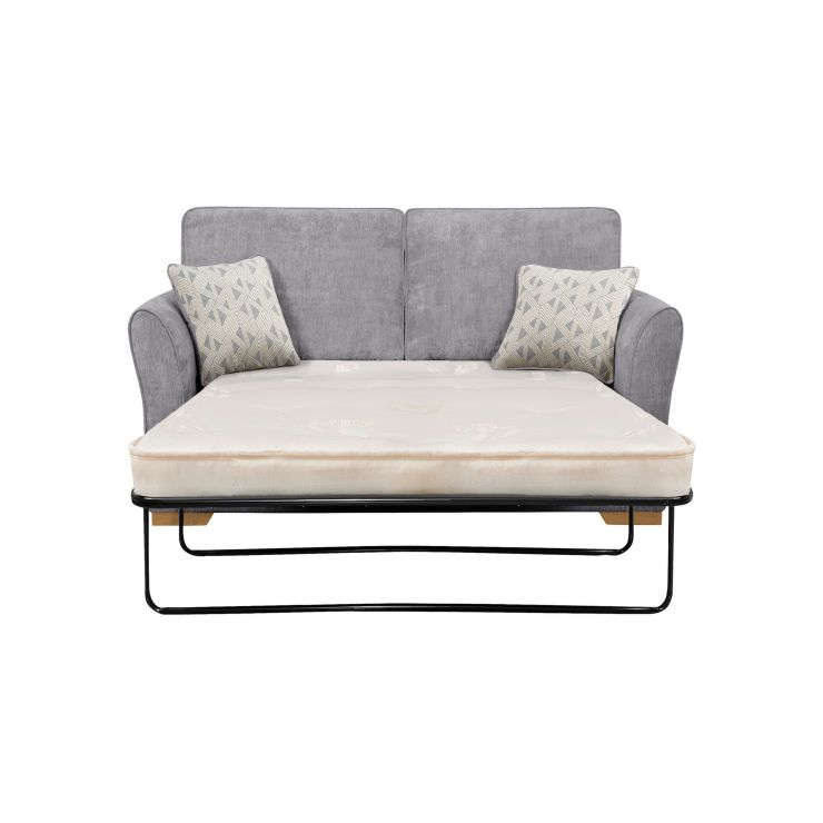 length of 2 seater sofa living room set designs 2018 jasmine bed deluxe mattress in cosmo pewter with bamboo slate scatters express delivery