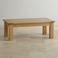 Contemporary Coffee Table in Solid Oak | Oak Furniture Land