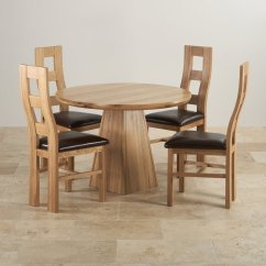 Solid Oak Dining Table And Chairs Zero Gravity Hanging Chair Provence Set 3ft 7 Quot With 4