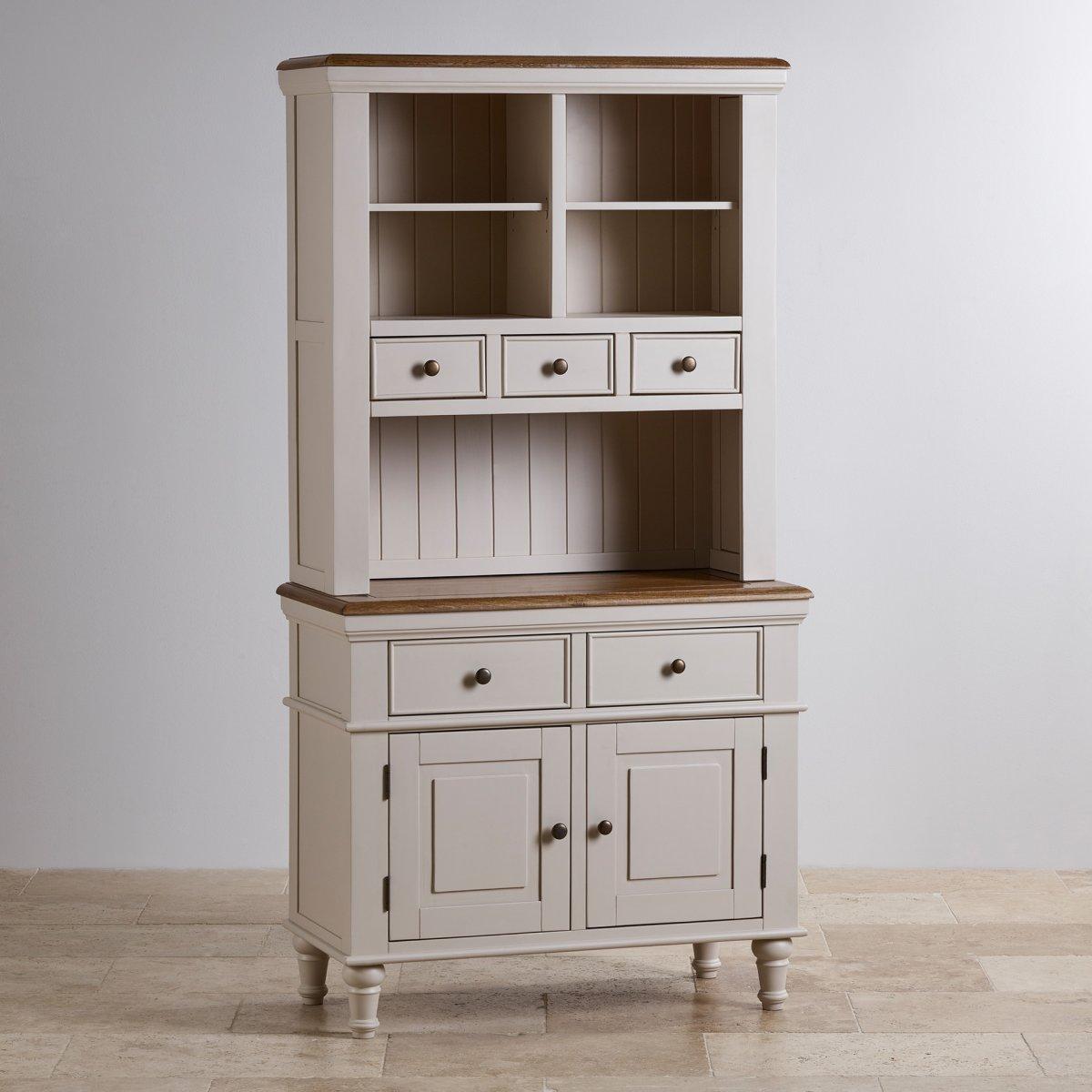 Shay Small Dresser in Painted Rustic Oak  Oak Furniture Land