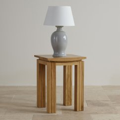 How Tall Should A Table Lamp Be Next To Sofa Power Bed Tokyo Natural Solid Oak Living Room Furniture